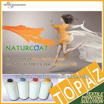 Korea TOPAZ Sublimation Coating for cotton