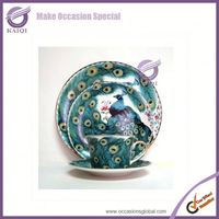 k3503-1 Manufacturers Bulk Decorative Wholesale Ceramic Plates