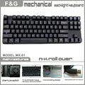 87keys mechanical keyboard price with Cherry switch