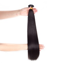 Brazilian hair styles manufacturer virgin cuticle aligned hair i tip human hair extensions