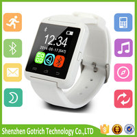 New hot product 2016 bluetooth watch caller id mobile phone accessories novelty electronic products smart watch android sim card