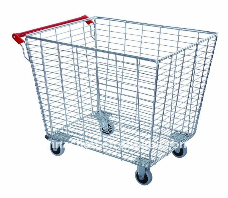 370 Litre Supermarket Trolley