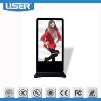 Indoor touch screen android tablet/ advertising Kiosk/media