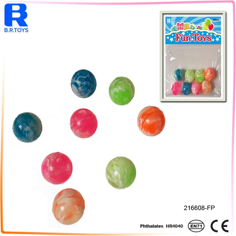 27mm Rubber Bouncing Balls for Bouncy Balls Vending Machine