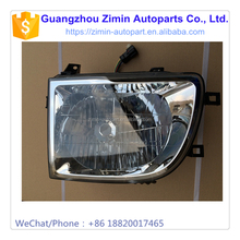 Classical Head Lamp Aftermarket Modified Truck ABS Plastic White Glass Front Head Light Lamp For GRAND TIGER G3