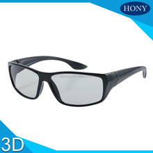 Plastic circular polarized 3D glasses for LG TV or RealD 3d cinema