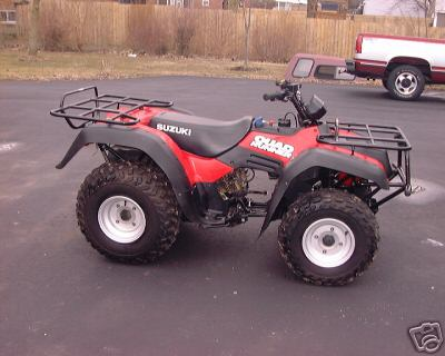Suzuki Quad Runner 250 CC ATV 4 Wheeler Extra Clean