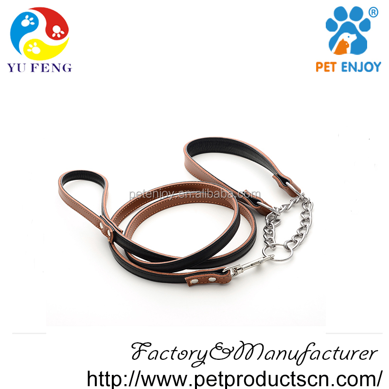 decorative dog leather collar, real leather dog collar with leashes