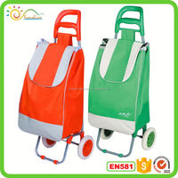 Folding shopping trolley folding pet travel bag