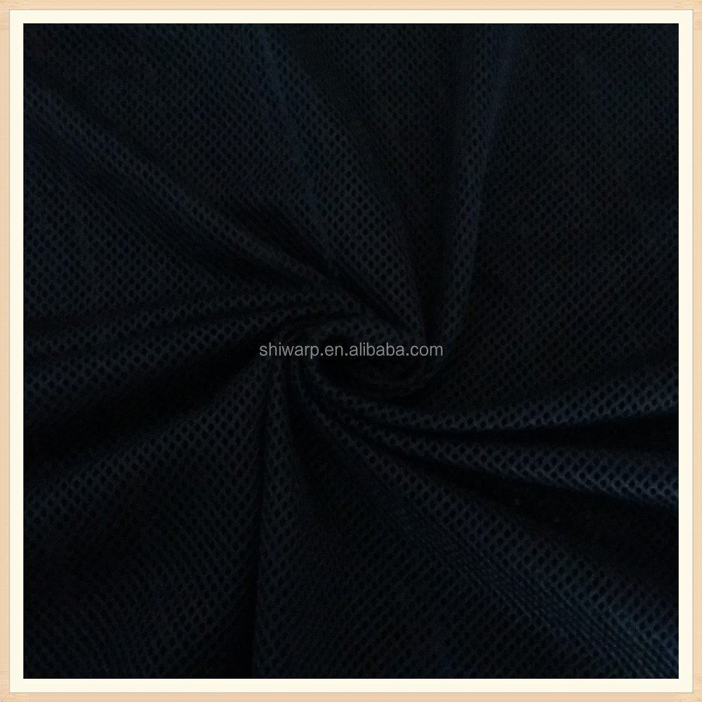 k high quality polyester soft diamond mesh fabric warp knit fabric wholesale