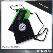 Car Member Portable 12V Electric Car Air Pump Connected with Jump Starter