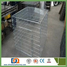 pet life dog cage/dog cage, double dog cage, expanded metal dog cage