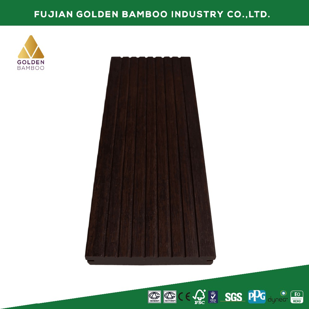 Hot Sale outdoor Strand Woven bamboo decking,outdoor veneer decking