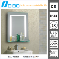 Buy Illuminated LED bathroom mirror with demister in China on ...