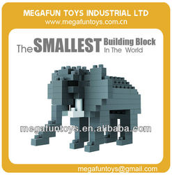 100pcs Elephant interesting building block toy china products