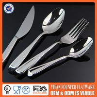 thick stainless steel set cutlery spoon fork and knife
