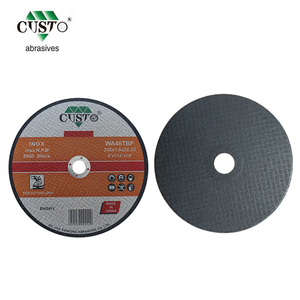 230x3x22mm steel abrasive cutting disks , resin bonded cut off wheel
