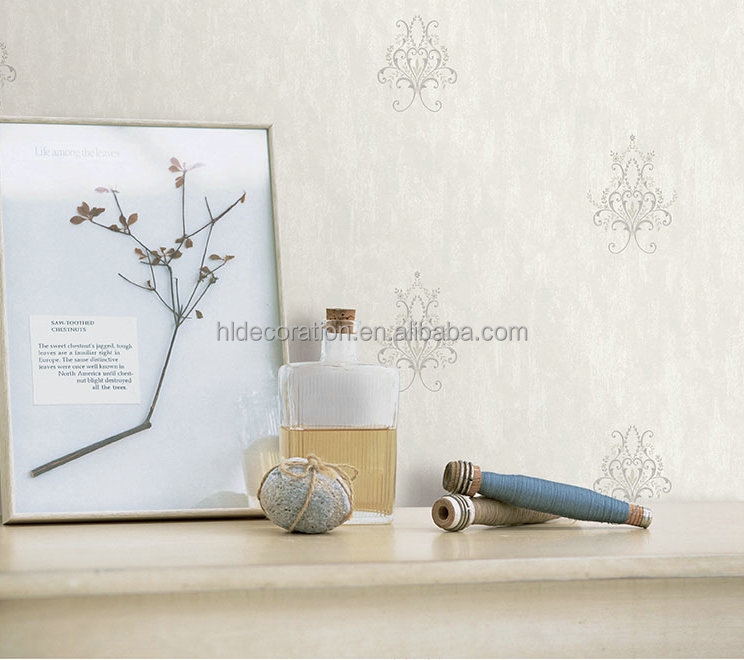 PT162011 modern design decorative import eco-friendly non woven wallpaper