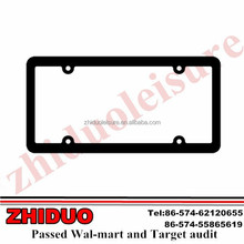Perimeter Black Plating License Plate Frame