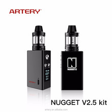 2017 best Artery Nugget V2.5 Kit e cig , electronic cigarette free sample free shipping ,electronic cigarette Indonesia