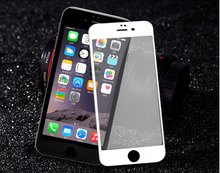 3D color tempered glass screen protector for iphone 5