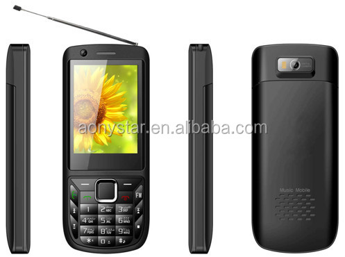 2.4 inch high quality low price cellphones with whatsapp/facebook/Java/FM/TV