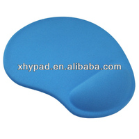 silicon gel wrist support mouse pad