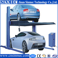 mechanical hydraulic car parking system 2-5 layers
