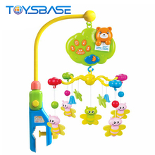 Newest Crib Toy Bear Bed Bell Baby Musical Mobile