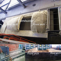 refractory cement for hot water boiler