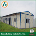 low cost steel frame modular one storey prefabricated hotel