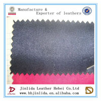Satin foaming pvc leatherette fabric