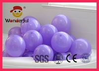 9 inch high quality latex standard purple balloons 1.5gram for wholesale