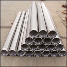 welded wire cylinder screen for filtration