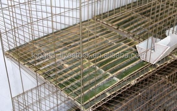 ISO approved farming equipment rabbit cage with low price rabbit meat farming