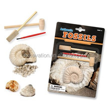 archaeology Dig and Discover kit toy of Egyptian Antique dig kit, Fossil Excavation Dig it Out Kit