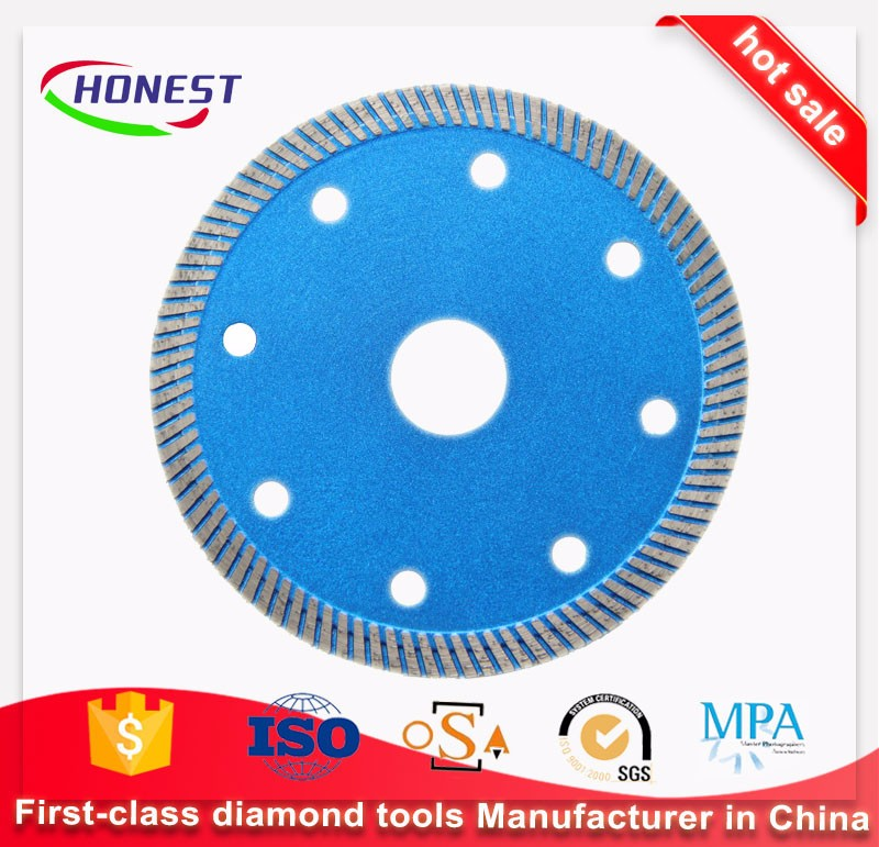 Hot Presse Ultra Thin Turbo Diamond Blade for cutting ceramic tile