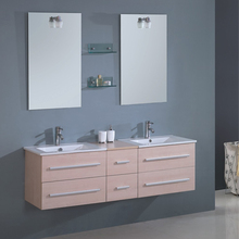 Wholesale Low Price High Quality Tranditional Bathroom Vanity Double Sink Stainless Steel Vanity