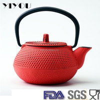 cast iron teapot 300ml coffee tea set