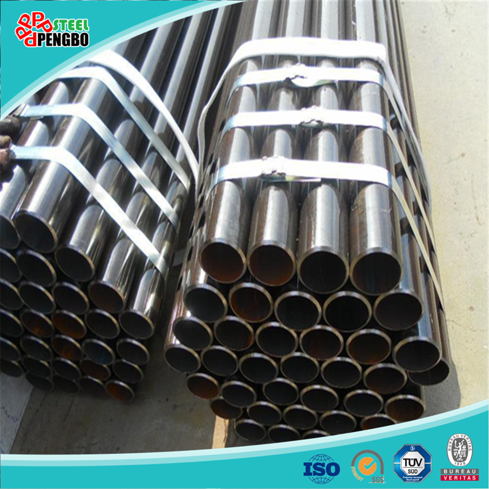 ASTM A106 factory direct sale black carbon steel tube with competitive price seamless pipes