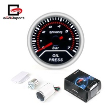Oil Pressure Gauge 2&quot; 52mm with Sensor 0-7 LED Bar <strong>Meter</strong>