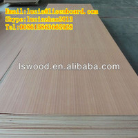 16mm white laminated furniture plywood , melamine faced plywood for wall panel