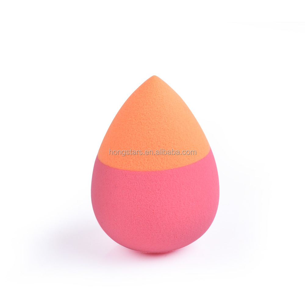 Meidao Hot sale mixed color latex free powder puff cosmetic blender makeup sponge
