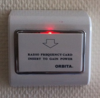 Orbita high quality hotel light energy saving switch for hotel