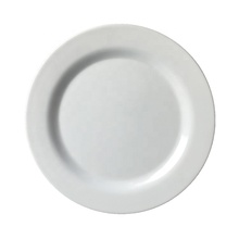 FDA standard kitchen used high quality round shape white melamine <strong>plate</strong>