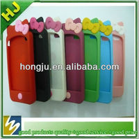 2013 hot sell silicone mobile phone case for Iphone5