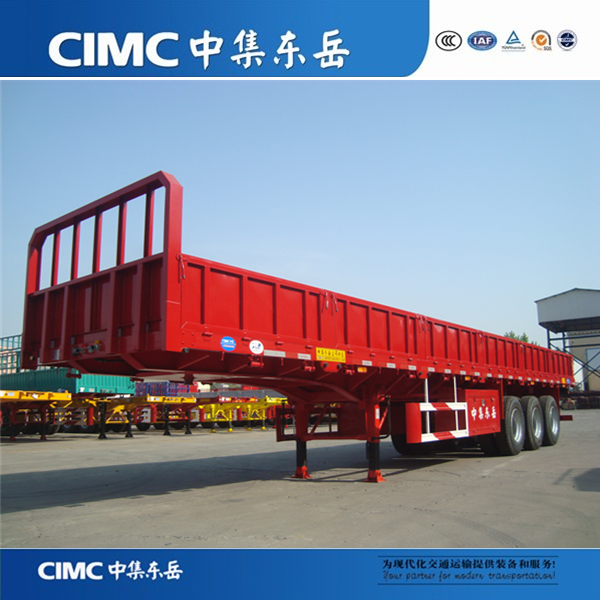 China Direct Factory 3 Axle 40 Ton Fiberglass Cargo Trailer