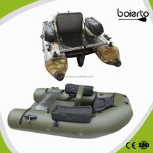 aluminum pontoon inflatable boat for sale camouflage in china