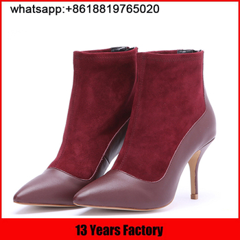 2016 New style hot selling high heel women boots