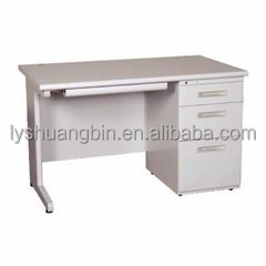Factory supply knock down steel office desk/metal employee table